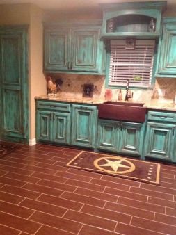 Beautiful Farmhouse Style Rustic Kitchen Cabinet Decoration Ideas 90