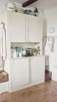 Beautiful Farmhouse Style Rustic Kitchen Cabinet Decoration Ideas 92
