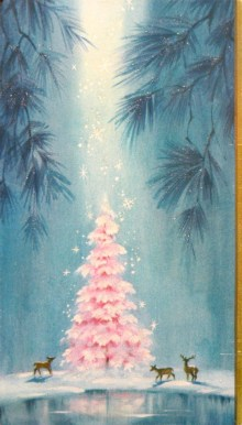 Cute And Adorable Pink Christmas Tree Decoration Ideas 21