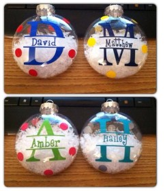 Cute And Creative Homemade Christmas Ornaments Ideas You Should Try 19