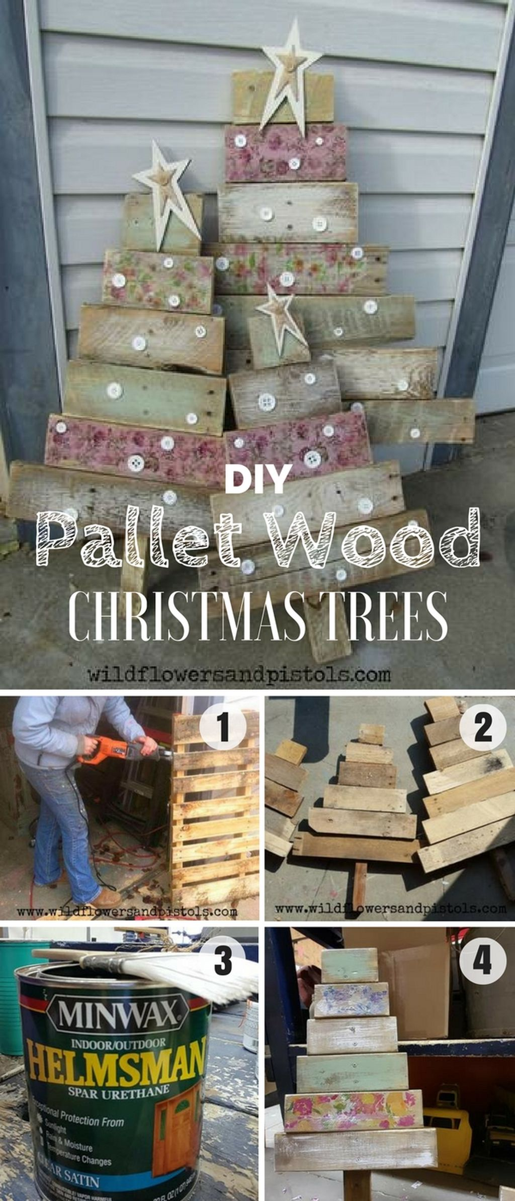 Easy And Creative DIY Christmas Tree Design Ideas You Can Try As Alternatives 45