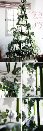 Easy And Creative DIY Christmas Tree Design Ideas You Can Try As Alternatives 46