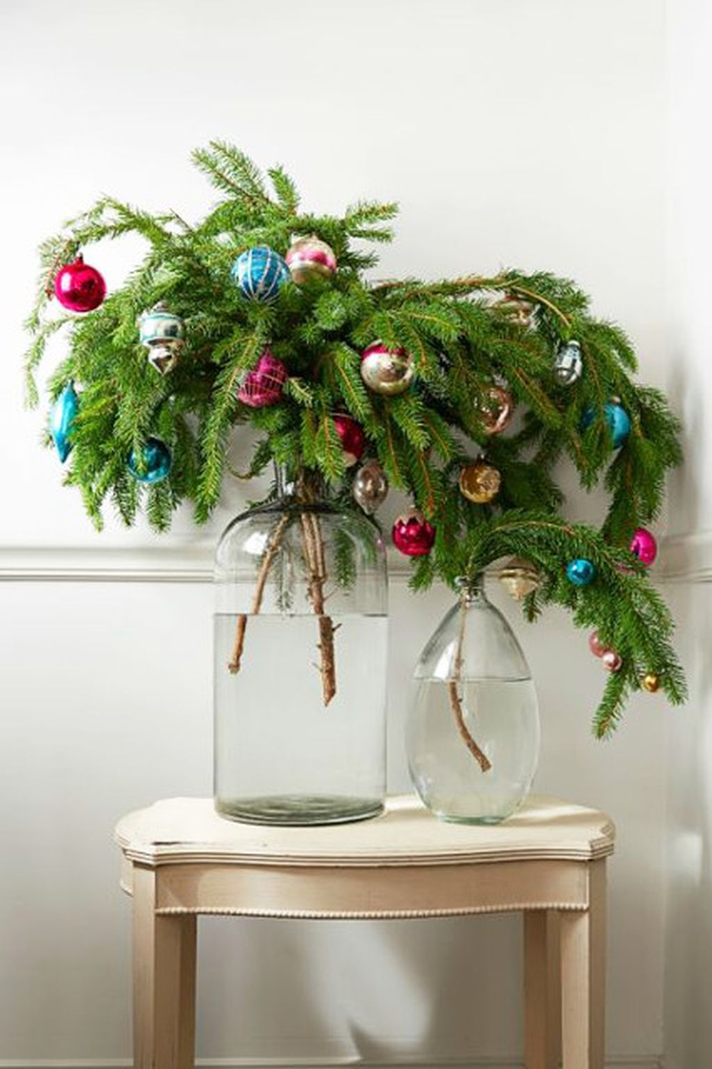 Easy And Creative DIY Christmas Tree Design Ideas You Can Try As Alternatives 47