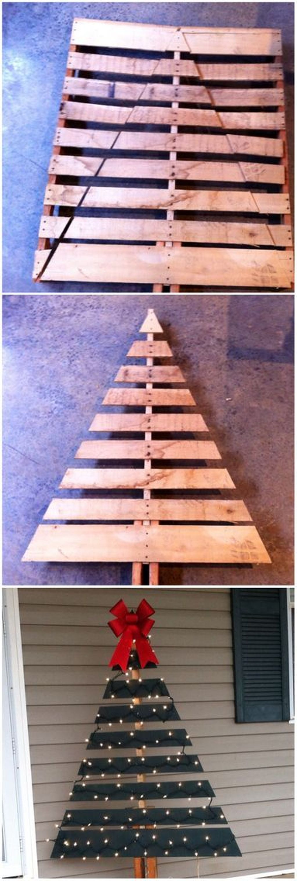 Easy And Creative DIY Christmas Tree Design Ideas You Can Try As Alternatives 64
