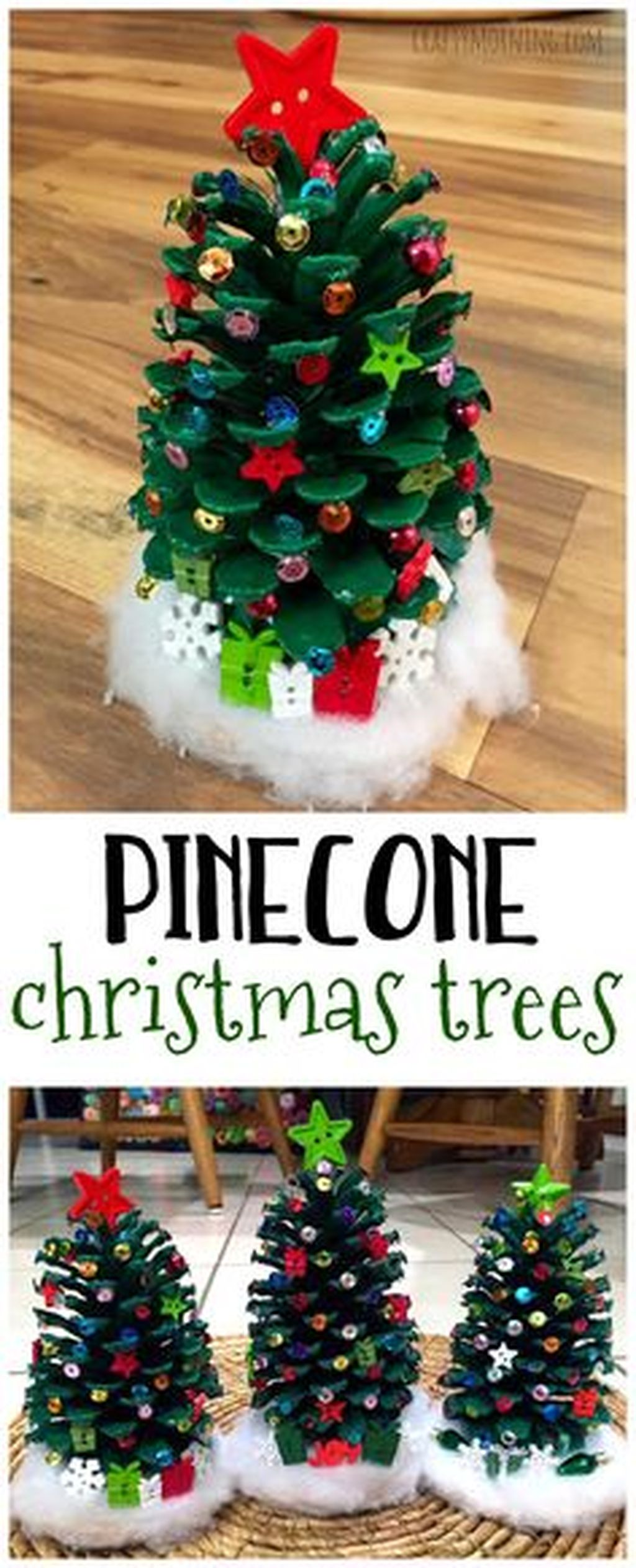 Easy And Creative DIY Christmas Tree Design Ideas You Can Try As Alternatives 68