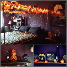 Inspiring Halloween Decoration Ideas For Your Apartment 56