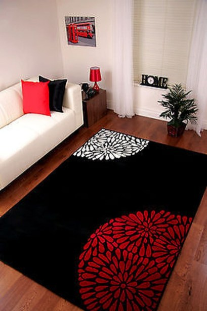 Inspiring Living Room Decoration Ideas With Carpet 46