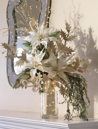 Inspiring Modern Rustic Christmas Centerpieces Ideas With Candles 28