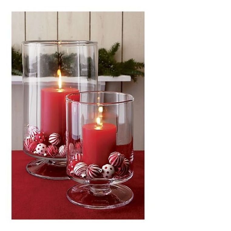 Inspiring Modern Rustic Christmas Centerpieces Ideas With Candles 68