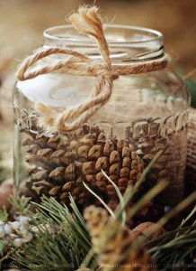 Inspiring Pine Cones Christmas Decoration Ideas 07