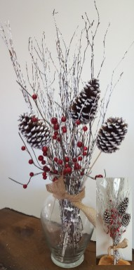 Inspiring Pine Cones Christmas Decoration Ideas 48