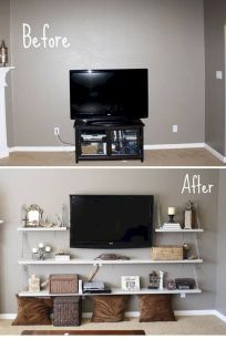 Inspiring And Affordable Decoration Ideas For Small Apartment 69