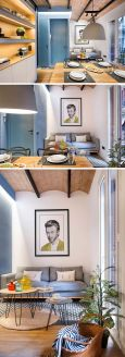 Inspiring And Affordable Decoration Ideas For Small Apartment 89