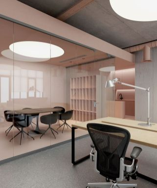 Modern And Cozy Office Interior Design Ideas To Makes You Feel Comfortable 47