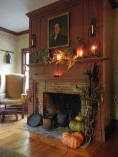Scary But Classy Halloween Fireplace Decoration Ideas 83