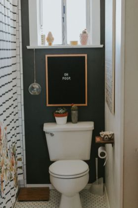 Simple And Clean Apartment Bathroom Decoration Ideas Suitable For You Who Living With Roomates 27