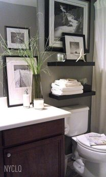 Simple And Clean Apartment Bathroom Decoration Ideas Suitable For You Who Living With Roomates 31