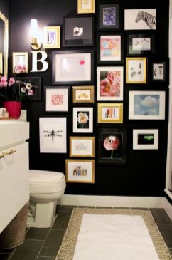 Simple And Clean Apartment Bathroom Decoration Ideas Suitable For You Who Living With Roomates 46