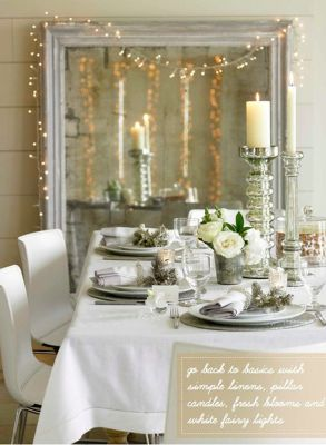Stunning White Vintage Christmas Decoration Ideas 62