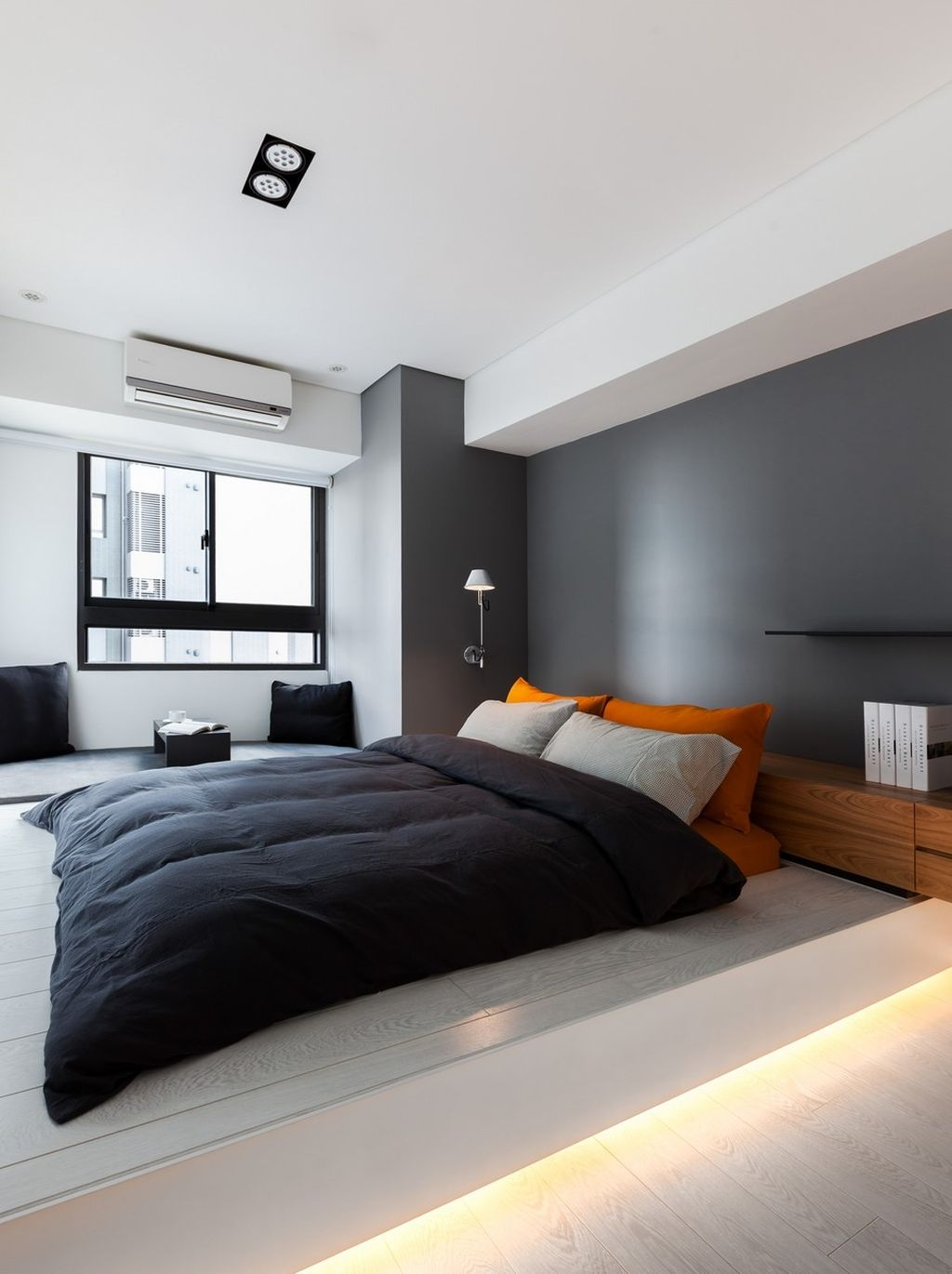 Totally Brilliant Bedroom Design Ideas For Small Apartment 53