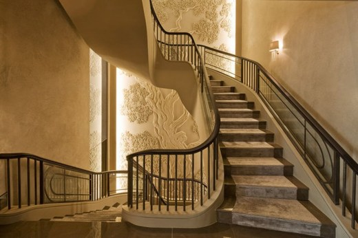 Totally Inspiring Residential Staircase Design Ideas You Can Apply For Your Home 36
