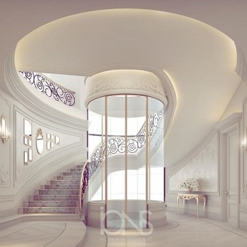 Totally Inspiring Residential Staircase Design Ideas You Can Apply For Your Home 37