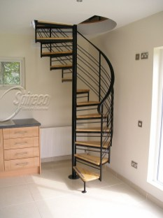 Totally Inspiring Residential Staircase Design Ideas You Can Apply For Your Home 43