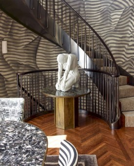 Totally Inspiring Residential Staircase Design Ideas You Can Apply For Your Home 57