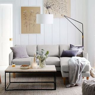 Totally Outstanding Sectional Sofa Decoration Ideas With Lamps 05