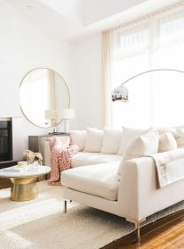 Totally Outstanding Sectional Sofa Decoration Ideas With Lamps 13