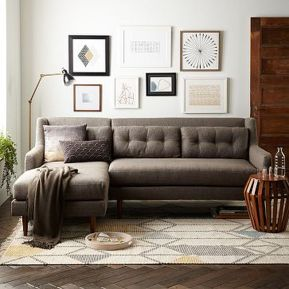 Totally Outstanding Sectional Sofa Decoration Ideas With Lamps 25