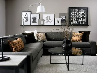 Totally Outstanding Sectional Sofa Decoration Ideas With Lamps 41