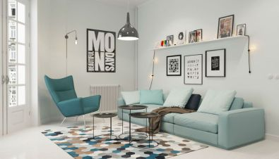 Totally Outstanding Sectional Sofa Decoration Ideas With Lamps 44