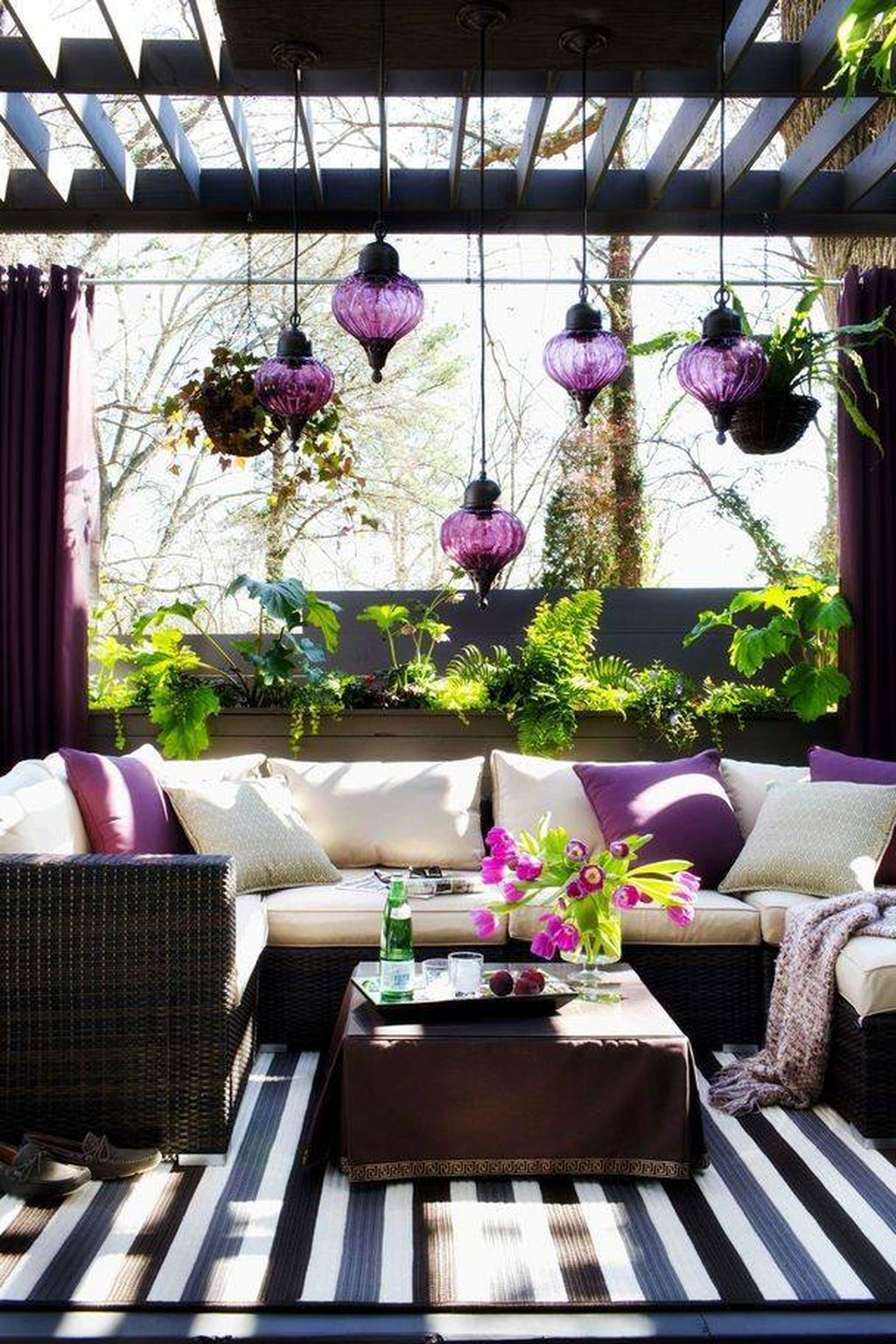 Totally Outstanding Sectional Sofa Decoration Ideas With Lamps 50