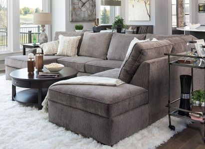 Totally Outstanding Sectional Sofa Decoration Ideas With Lamps 53
