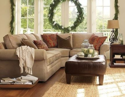 Totally Outstanding Sectional Sofa Decoration Ideas With Lamps 60