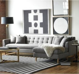 Totally Outstanding Sectional Sofa Decoration Ideas With Lamps 80