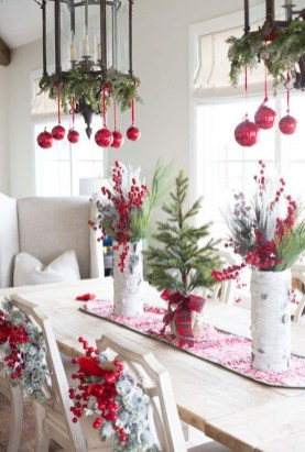 Elegant Table Christmas Decoration Ideas 09