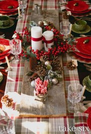 Elegant Table Christmas Decoration Ideas 14