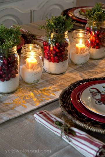 Elegant Table Christmas Decoration Ideas 38