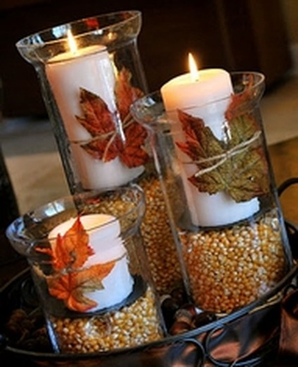 Romantic Christmas Centerpieces Ideas With Candles 01