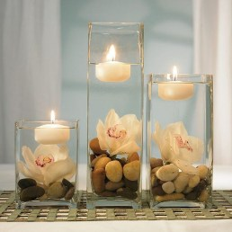 Romantic Christmas Centerpieces Ideas With Candles 03