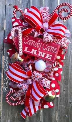 Totally Fun Candy Cane Christmas Decoration Ideas For Your Home06