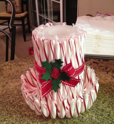 Totally Fun Candy Cane Christmas Decoration Ideas For Your Home25
