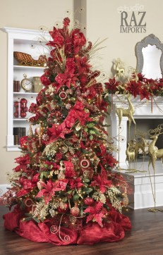 Totally Inspiring Red And Gold Christmas Decoration Ideas 15