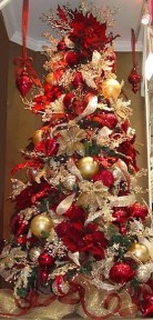 Totally Inspiring Red And Gold Christmas Decoration Ideas 31