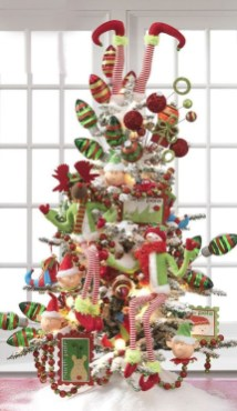 Unique But Inspiring Christmas Tree Toppers Decoration Ideas 41