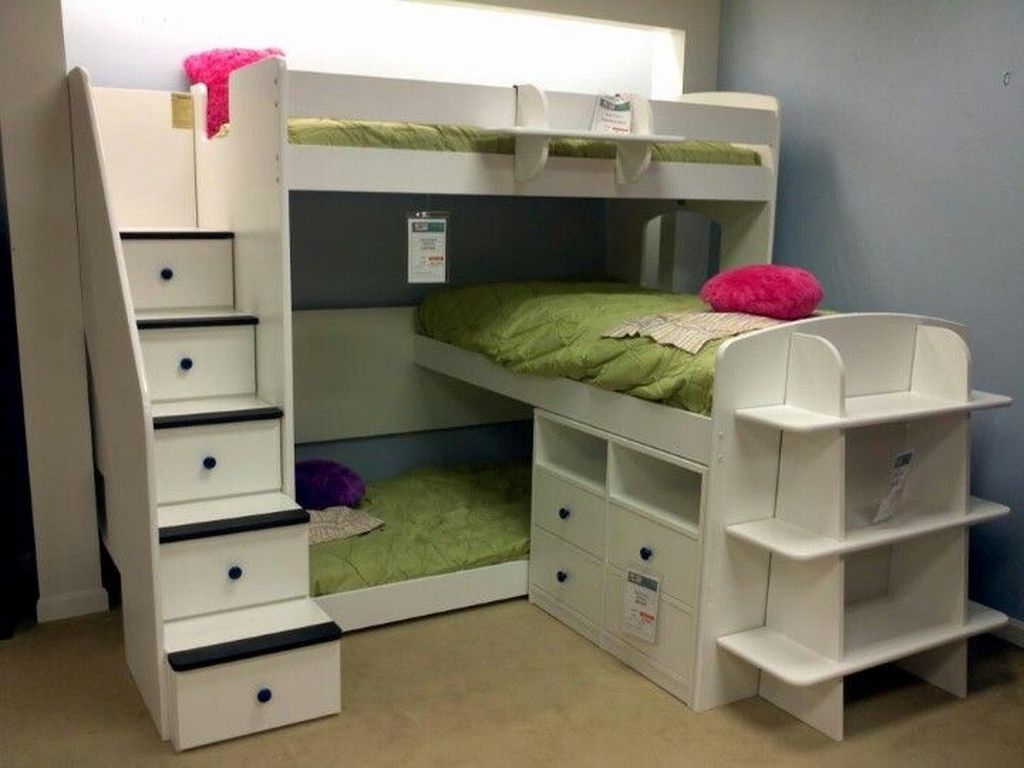 Cool And Functional Built In Bunk Beds Ideas For Kids12