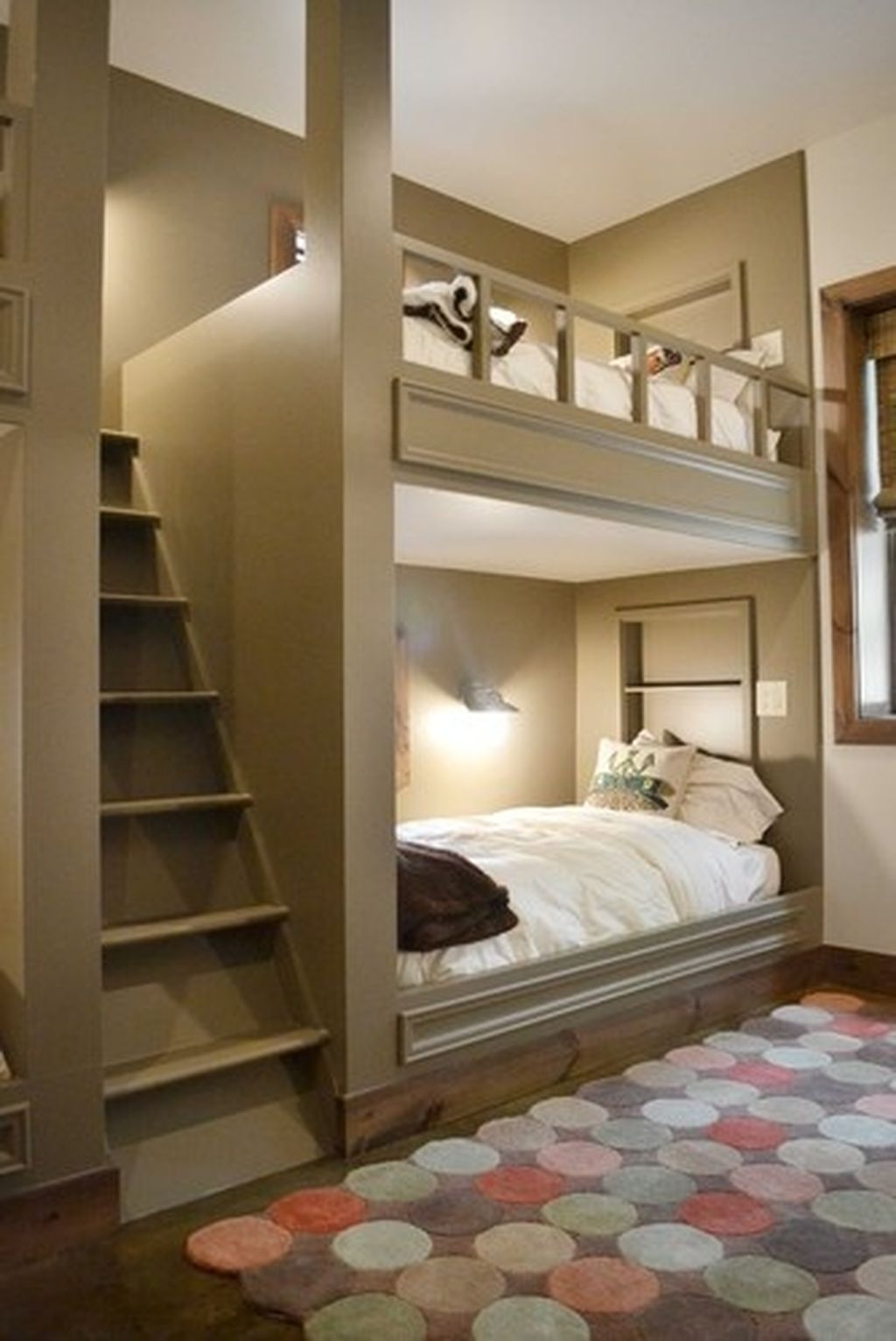Cool And Functional Built In Bunk Beds Ideas For Kids14
