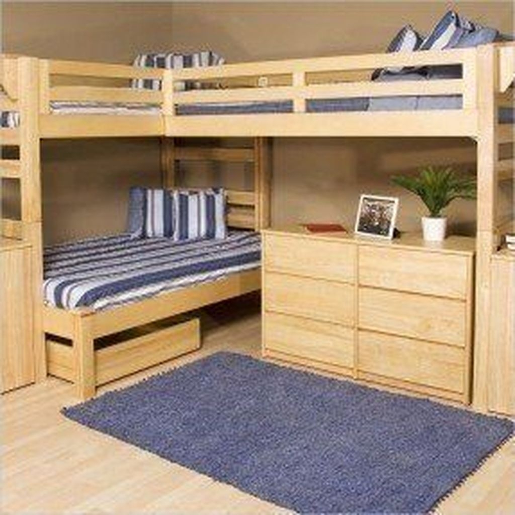 Cool And Functional Built In Bunk Beds Ideas For Kids30
